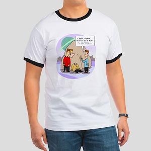Star Trek Red Shirts Cartoon Ringer T