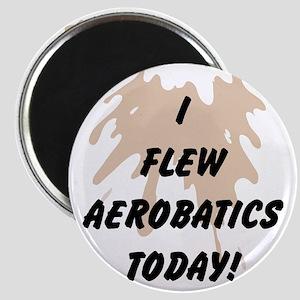 I Flew Aerobatics Today Magnet