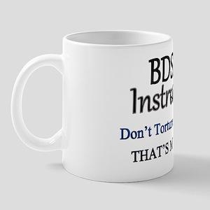 Dont Torture Yourself (Blue) Mug
