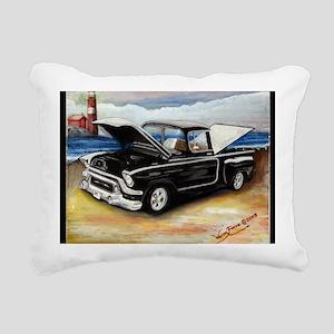 Classic Truck Rectangular Canvas Pillow