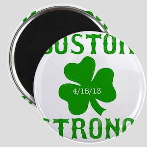 Boston Strong - Green Magnet