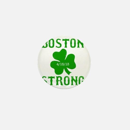 Boston Strong - Green Mini Button