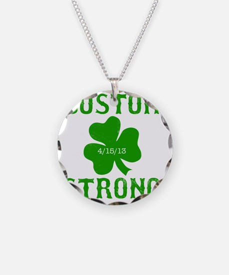 Boston Strong - Green Necklace