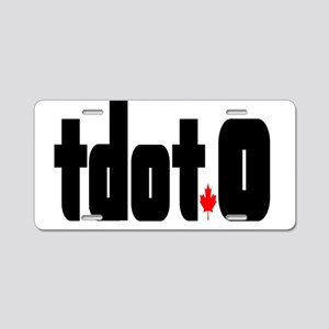 tdot.o with Maple Leaf Aluminum License Plate
