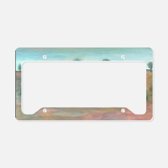 Three old friends License Plate Holder