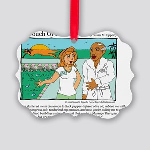 A Touch of Humor Cannibal Comic Picture Ornament