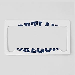 souv-whale-port-ore-CAP License Plate Holder