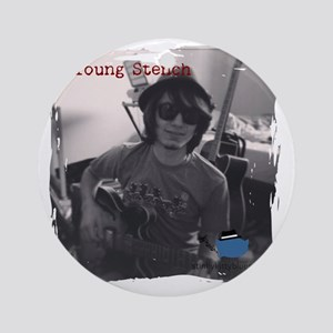 Young Stench Round Ornament