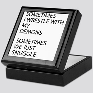 Wrestle With My Demons Keepsake Box