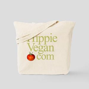 HippieVegan.com Logo Tote Bag