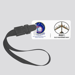 B-52 Stratofortress Peace the Ol Small Luggage Tag