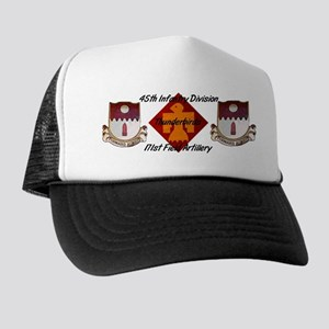 171st Crests & Thunderbird Mesh Back Hat