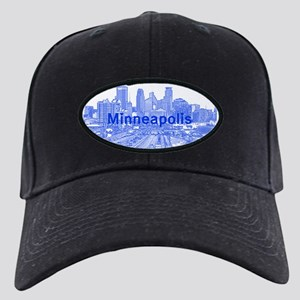 Minneapolis_17X9_Downtown_Blue Black Cap