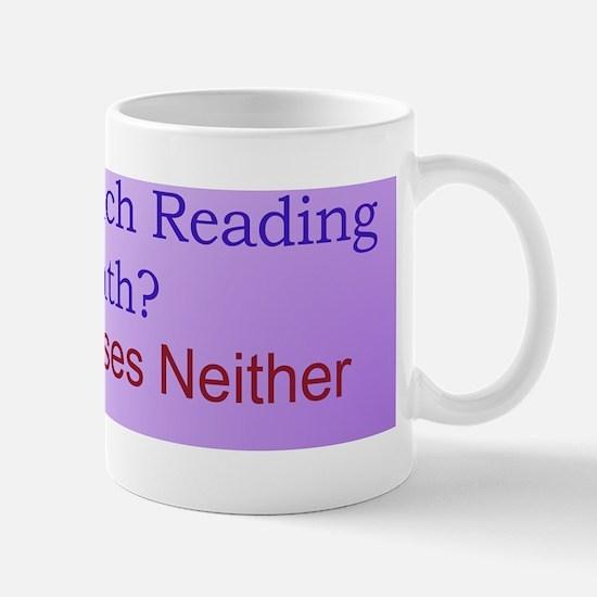 Why Teach Reading Mug
