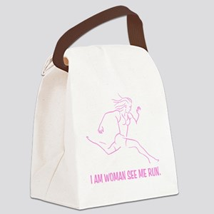 I am woman Canvas Lunch Bag