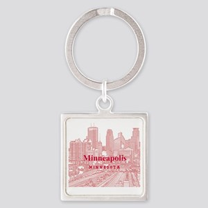 Minneapolis_10X10_v1_Downtown_Brow Square Keychain