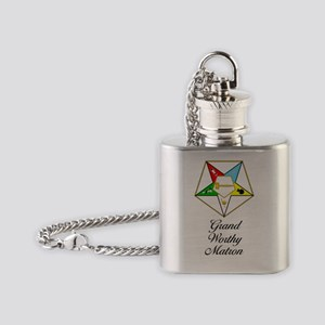 Grand Worthy Matron Journal Flask Necklace