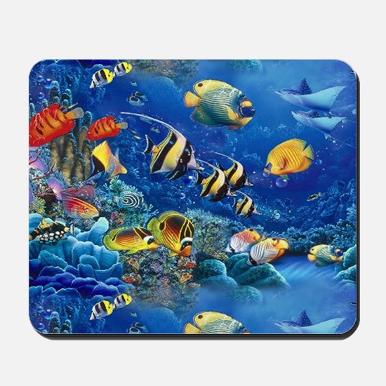 Tropical Fish Mousepad