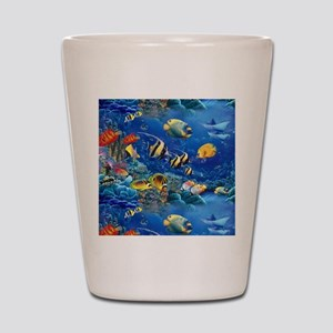 Tropical Fish Shot Glass