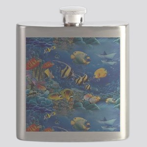 Tropical Fish Flask