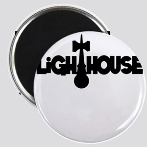 black Lighthouse1 with tag Magnet