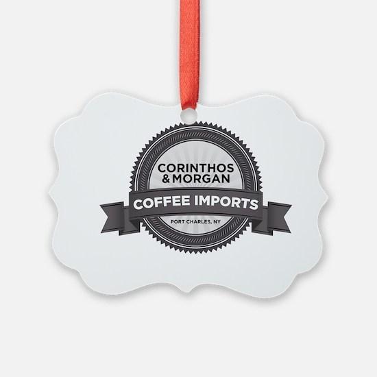 Coffee Imports Ornament