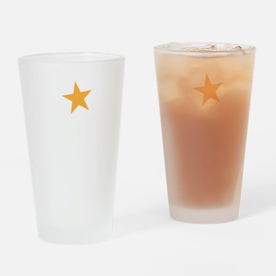 haunted star Drinking Glass