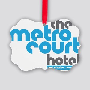 metro court Picture Ornament