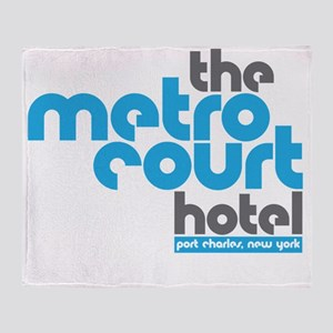 metro court Throw Blanket