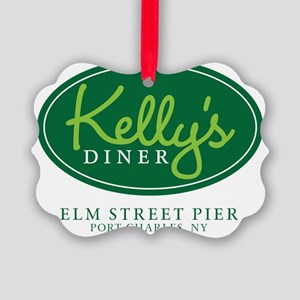 Kellys Diner Picture Ornament