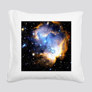 Star Cluster Square Canvas Pillow