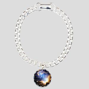 Star Cluster Charm Bracelet, One Charm