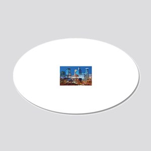 Minneapolis_2x3_magnet_Downt 20x12 Oval Wall Decal
