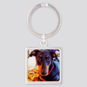 Gracie/signed Square Keychain