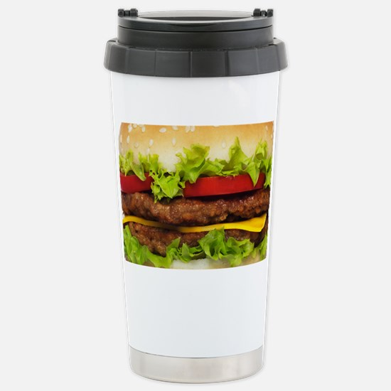 Burger Me Stainless Steel Travel Mug
