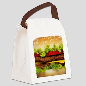 Burger Me Canvas Lunch Bag