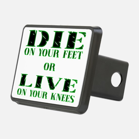 Die or Live Green Hitch Cover