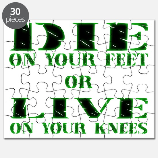 Die or Live Green Puzzle
