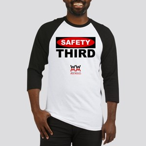 Safety Third Baseball Jersey