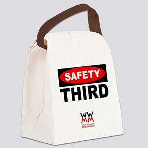 Safety Third Canvas Lunch Bag