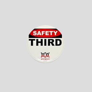 Safety Third Mini Button