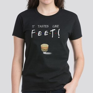 Ross It Tastes Like Feet! Women's Dark T-Shirt