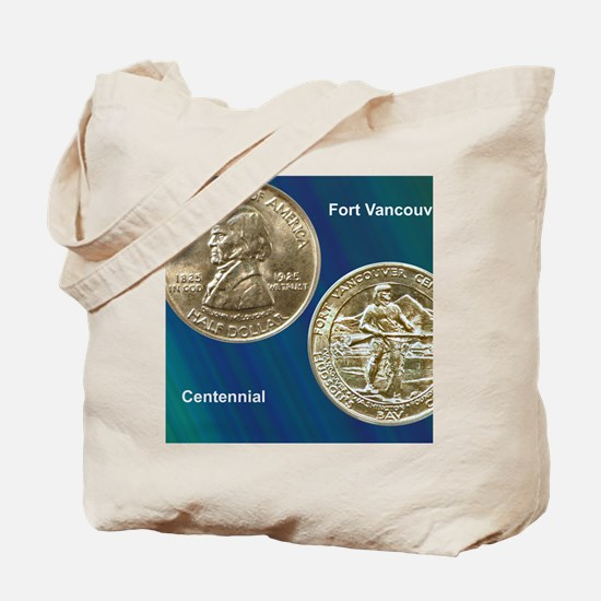 Fort Vancouver Half Dollar Coin  Tote Bag