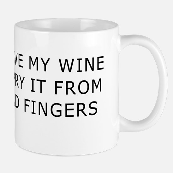 Cold Dead Fingers Wine Mug
