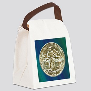 Fort Vancouver Half Dollar Coin  Canvas Lunch Bag