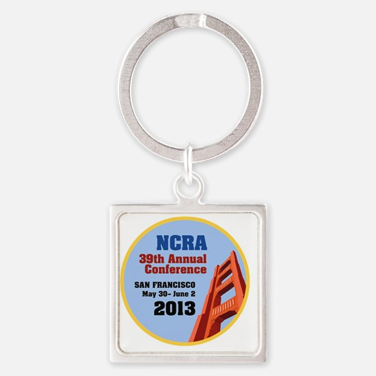 2013 NCRA Educational Conference Square Keychain