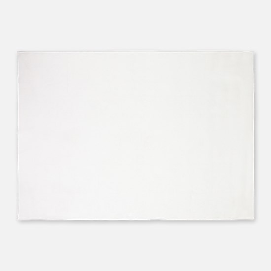 DieLiveWhite 5'x7'Area Rug