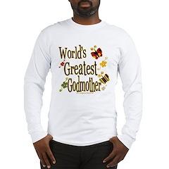 Godmother Butterflies Long Sleeve T-Shirt