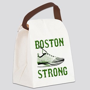 Boston Strong - Running Shoe Canvas Lunch Bag