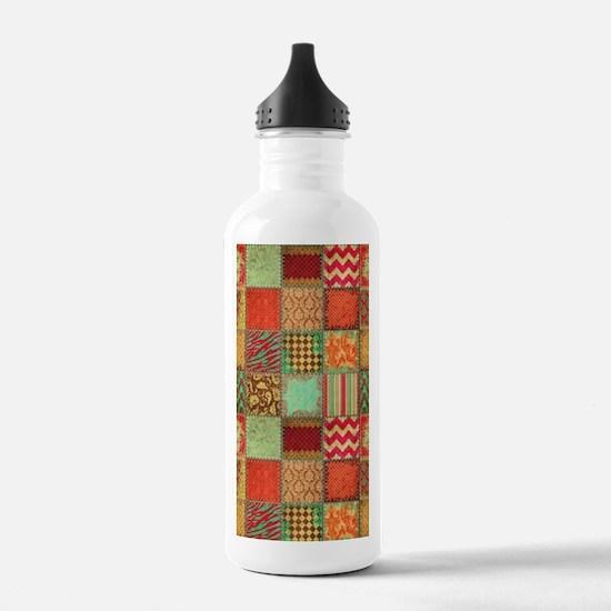 Quilt Water Bottle